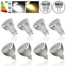 4/10/20x High Power GU10 MR16 6W 7W LED Bulbs Spot Light Warm/Day White SMD Lamp