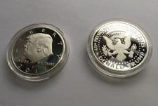 38th President Donald Trump Inaugural Silver EAGLE Commemorative Novelty Coin V0