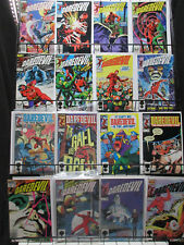 Daredevil Copper Age Lot 16Diff from 201-239 Black Widow Pariah Hydra Jester