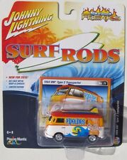 JOHNNY LIGHTNING SURF RODS 1964 VW TYPE 2 TRANSPORTER #11 A