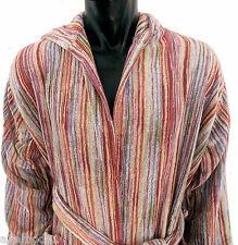 MISSONI HOME ACCAPPATOIO CAPPUCCIO ECO DYE  HOODED BATH ROBE OWEN NEW 156 - M