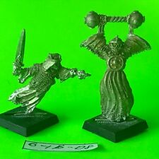 Warhammer Fantasy Undead Vampire Counts - Wraith x 2 - OOP Metal