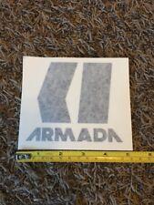 "Armada Sticker Black 5"" Decal Skis Bindings Snowboard Boots Jacket Skiing Ski"