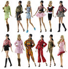 New Random Delivered 5 Set Fashion Lovely Clothes/Dress/outfit For 11 in. Doll