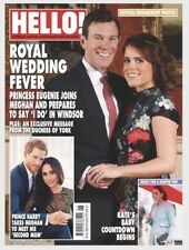 HELLO! Magazine #1518 ROYAL WEDDING SPECIAL! PRINCESS EUGENIE! (NEW)