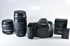 Canon EOS 60D 18.0MP Digital SLR Camera With Canon 18-55mm & 75-300mm Lenses