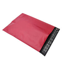"""200 7.5"""" x 10.5"""" HOT PINK POLY MAILERS ENVELOPES BAGS FREE Shipping SELF SEAL"""