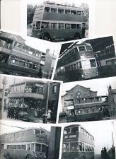 Transport Notts & Derbys tram & trolley bus photos x7 by Packer