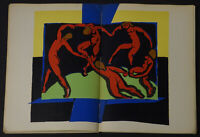 Verve No. 4 1939 Henri Matisse The Dance lithograph Mourlot Freres Bill Brandt