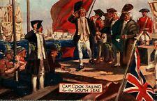 More details for captain cook, festival of empire, crystal palace, bemrose & sons, postcard, 1911