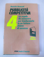 book LIBRO Daniela Brancati PUBBLICITA' COMPETITIVA 4 IPSOA SCUOLA IMPRESA (L5)