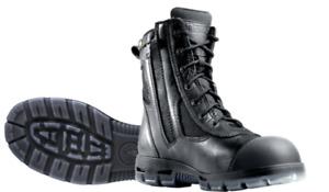 REDBACK L/Z KINGAROY SAFETY TOE BLACK KIP ZIP SCUFF CAP USKBZS