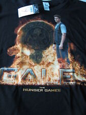 NEW T-Shirt Tee short sleeve The Hunger Games XL Black Gale District 12 women