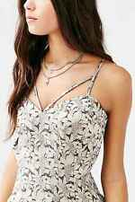 Lovers + Friends Fab Jacquard Fit and Flare Dress Womens Size S
