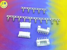 Kit 2x hembra + conector 6 polos + crimpkontakte Connector 2mm PCB precisamente #a1578