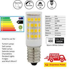 LED Light Bulbs Globes Turkish/Salt//Table Lamps & More E14 Warm White A++ 5W