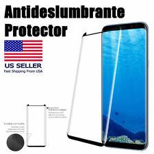 Protector antideslumbrante de cristal templado de la pantalla para Samsung S8 S9