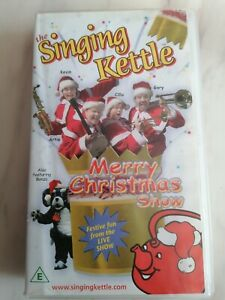 The Singing Kettle Merry Christmas show vhs