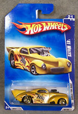 HOT WHEELS ~ 2008 ALL STARS ~ 1941 WILLYS ~ GOLD