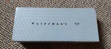VINTAGE COLLECTABLE WATERMAN CF FOUNTAIN PEN BOX