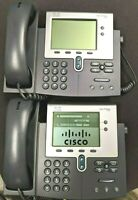 Cisco Unified IP Phone 7942G LOT OF 2