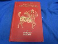 B1038 Many Inventions by Rudyard Kipling 1899 Thirteenth Edition D. Appleton &CO