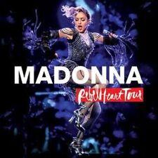 Madonna: Rebel Heart Tour (DVD, CD/Blu-ray) NEW