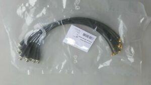 9x Systemkabel BNC Stecker/SMA Winkelstecker 0.4m EL00541-0.4