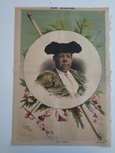 1889 La Lidia Revista Taurina VIII Núm 16 Felipe García Toros Corrida