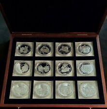 American Mint History Of America $20 Liberia 12 Coin 20g 999 Fine Silver 7.71oz