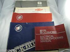 1989, 1990, 1991 BUICK ELECTRICAL SYSTEM MANUALS & 1989 C-K ELECTRICAL DIAGRAMS