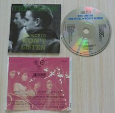 CD (NO BOX SANS BOITIER) THE WORLD WON'T LISTEN THE SMITHS 16 TITRES 1986