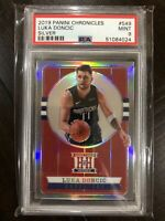 2019-20 Panini Chronicles LUKA DONCIC Hometown Heroes Silver PSA 9 #549 Pop 3