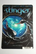 STINGER MEADOWS PERSSON CLARK COVER ART MINI POSTER BACKER CARD (NOT a movie)