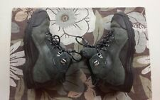 Timberland Youth Pawtuckaway Sz 4.5 Brown Leather Hiking Boots Style #66732