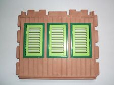Playmobil Safari Station Wand gross Fenster hellgrün 3433 4064 4305