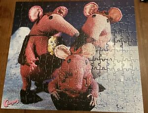 """The Clangers 200 Piece Double Sided Childrens Jigsaw Puzzle 19"""" x 22"""" Complete"""