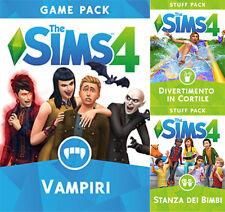 [Espansione Digitale ORIGIN] PC/MAC The Sims 4 Bundle Pack 4 Vampiri *KEY Codice