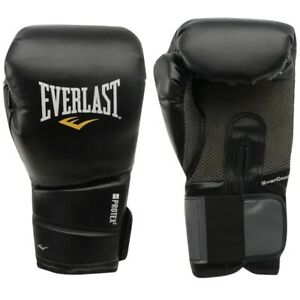 EVERLAST Protex 2 16oz Training Boxing Gloves- Black