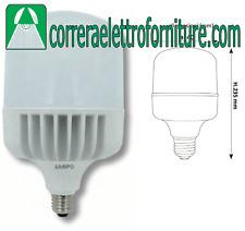 LAMPO CO60WBF LAMPADA LED E27 60W 6400K LUCE FREDDA