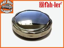 Non Locking Polished Stainless Steel Chrome Fuel Petrol Cap MG, Mini, Jaguar etc