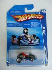 Hot Wheels Go Kart Hard to Find HW Garage 2010 Long Card