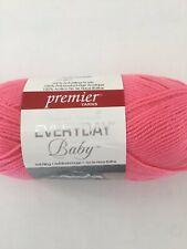 3 Pack Premier Yarns Cotton Fair Solid Yarn-Coral