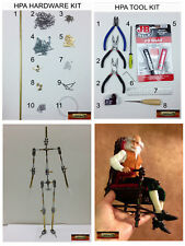 M00137 MOREZMORE Humanly Posable Armature HPA STARTER KIT Stop Motion Puppet