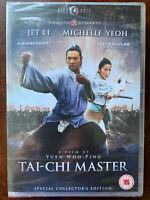 Tai Chi Master DVD 1993 Jet Li Martial Arts Movie HKL Hong Kong Legends BNIB