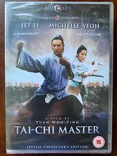 Jet Li Michelle Yeoh Tai Chi Master 1993 Martial Arts Classic   DVD