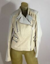 New with Defect BCBG Max Azria MADDY LEATHER JACKET 3039 Sz L