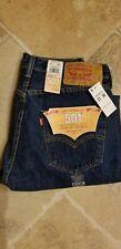Mens Levis 501 Original Blue Jeans 31 x 30 $29.99