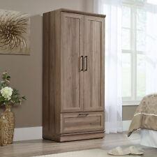 Wood Wardrobe Clothes Storage Cabinet Closet Rustic Farmhouse Bedroom Furniture