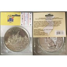 New Jersey State Quarter Jumbo Coin Paperweight New